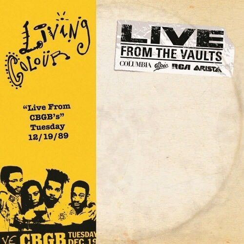 Living Colour - Live at CBGB's 19/12/89 2LP Vinyl RSD 2018 New!!!