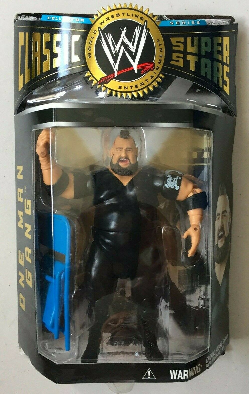 WWE Classic Superstars ONE MAN GANG Wrestling Figure WWF