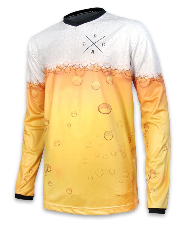 Loose Riders Mens Cheers Jerseys Long Sleeve. Sportwear, Bike, Cycling Style