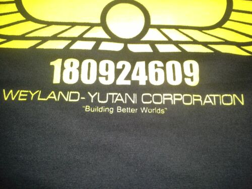 USCSS Nostromo Premium T-Shirt Weyland, Alien 1 2 3 4 Star freighter,Predator
