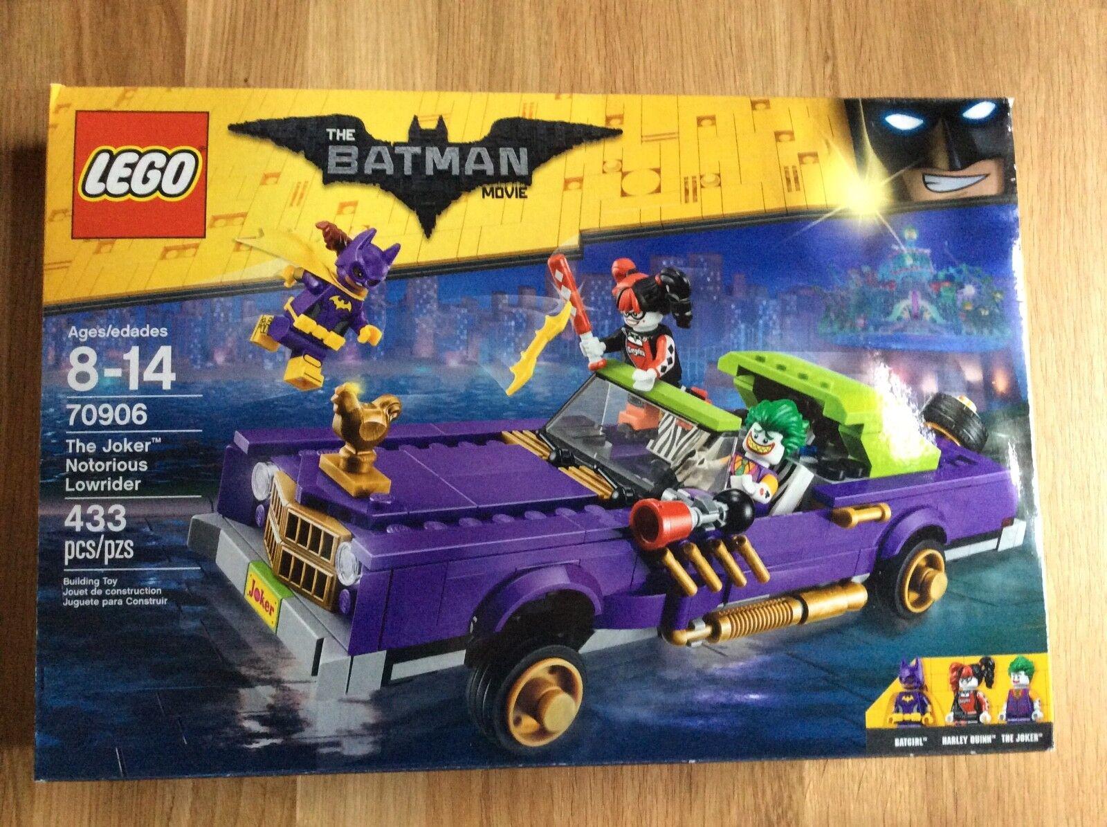 New Lego Batman The Joker Notorious Lowrider Set 70906 in Sealed Damaged Box