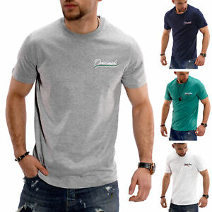 Jack-amp-Jones-T-Shirt-hommes-Basic-Top-shirt-manches-courtes-shirt-unicolore-O-Neck-SALE
