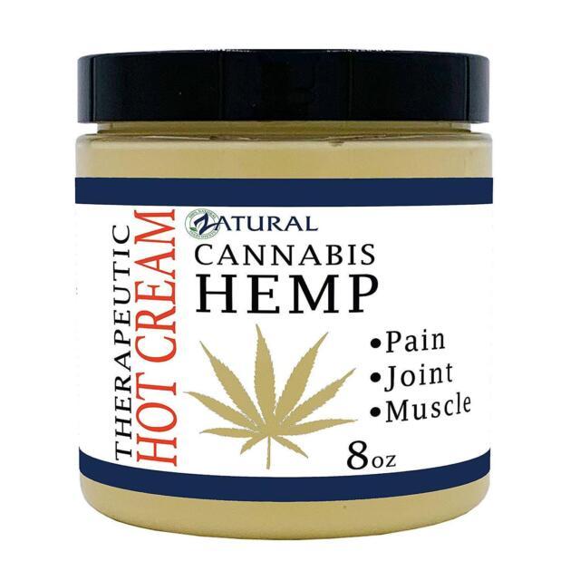 Hemp Hot Cream Hemp Oil Organic Anti Cellulite Muscle Cream Pain Support