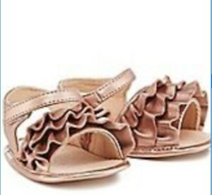 Ted Baker Baby Girl Rose Gold Sandals