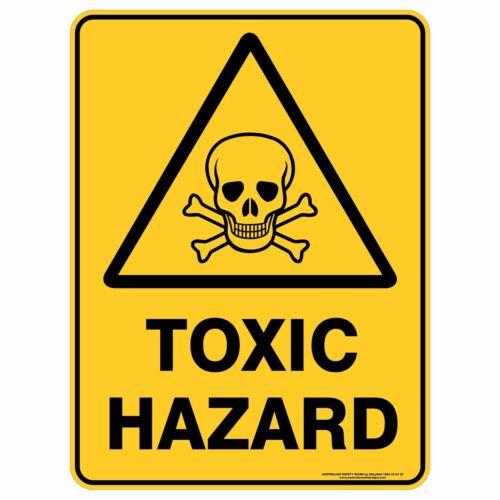 Warning Signs TOXIC HAZARD