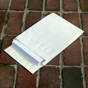 Bulk tyvek expansion envelopes 10 x 13 x 1 1 2 open end for 10x13 window envelope