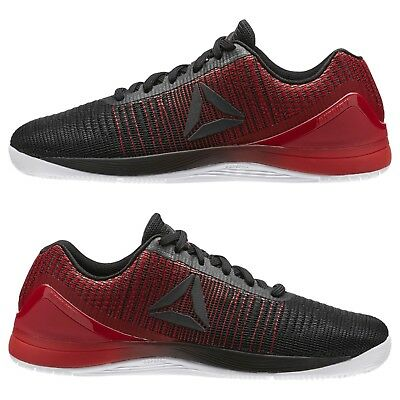 Men/'s Reebok CrossFit Nano 7 Weave Black White Red Training Weightlifting BS8345