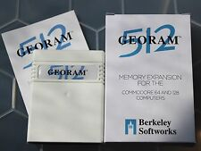New - GEORAM 512 RAM Expansion Unit by Berkeley Softworks for Commodore 64 & 128