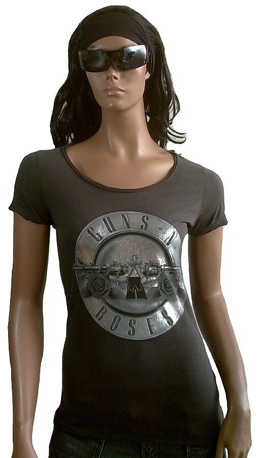Cool AMPLIFIED Official GUNS N'RosaS Drum Silber Rock Star Vintage T-Shirt g.XL
