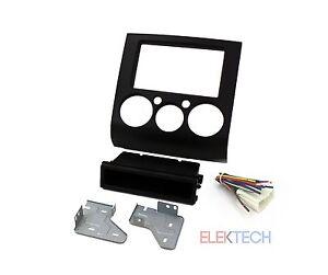 Radio Replacement Dash Mount Kit 1 /& 2-DIN w//Harness//Antenna for Subaru w//Nav