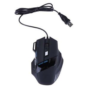5500-DPI-Gaming-Maus-USB-Optisch-LED-Beleuchtet-Wired-Pro-Mouse-fuer-PC-Computer