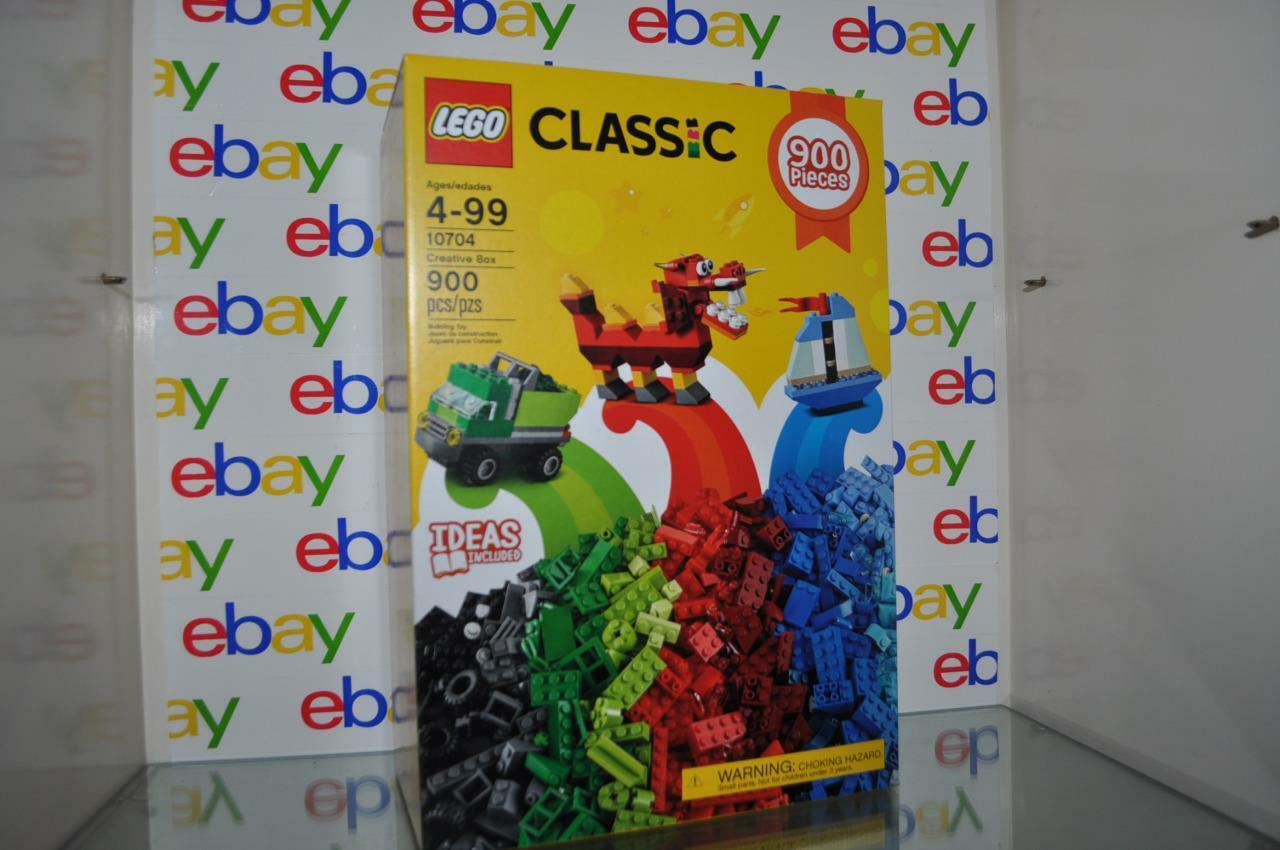LEGO 10704 Classic Creative Box 900 Pieces Brand NIB Fast Shipper