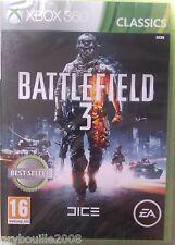 "JEU XBOX 360 ""BATTLEFIELD 3"" (FPS) Dice/Electronic Arts NEUF SOUS BLISTER"