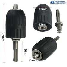 Keyless Drill Chuck 2 13mm To 12 20unf Thread With Sds Plus Adapter Hot Us