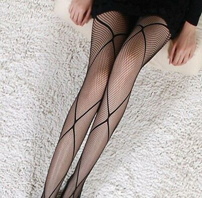 Fashion Lady Sexy Multi Patterns Fishnet Jacquard Net Polyester Pantyhose Tights