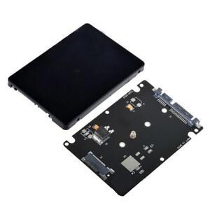 B-M-Schluessel-Socket-2-M-2-NGFF-SATA-SSD-to-2-5-SATA-Adapterkarte-mit-K-X5R4