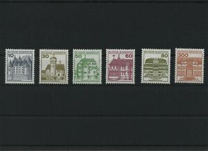 Federal-Frg-DS-Mi-913-1143-A-II-R-Mint-MNH-Letterset-Castles-And-Schl