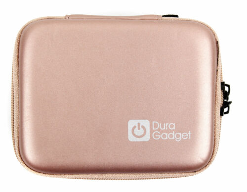 Hard  Case in Rose Gold W// Carabiner Clip for the NEW Roku 3 TV Streaming Player