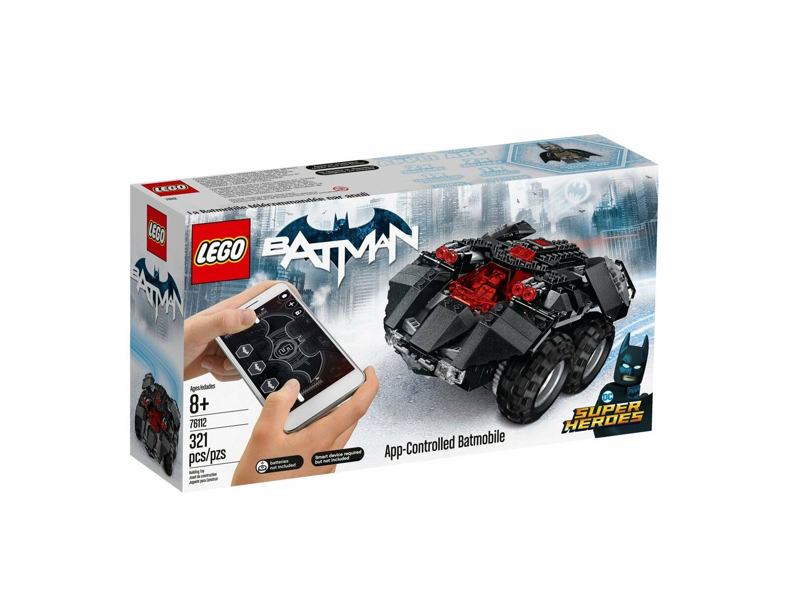 LEGO® 76112 DC Super Heroes App-gesteuertes Batmobile