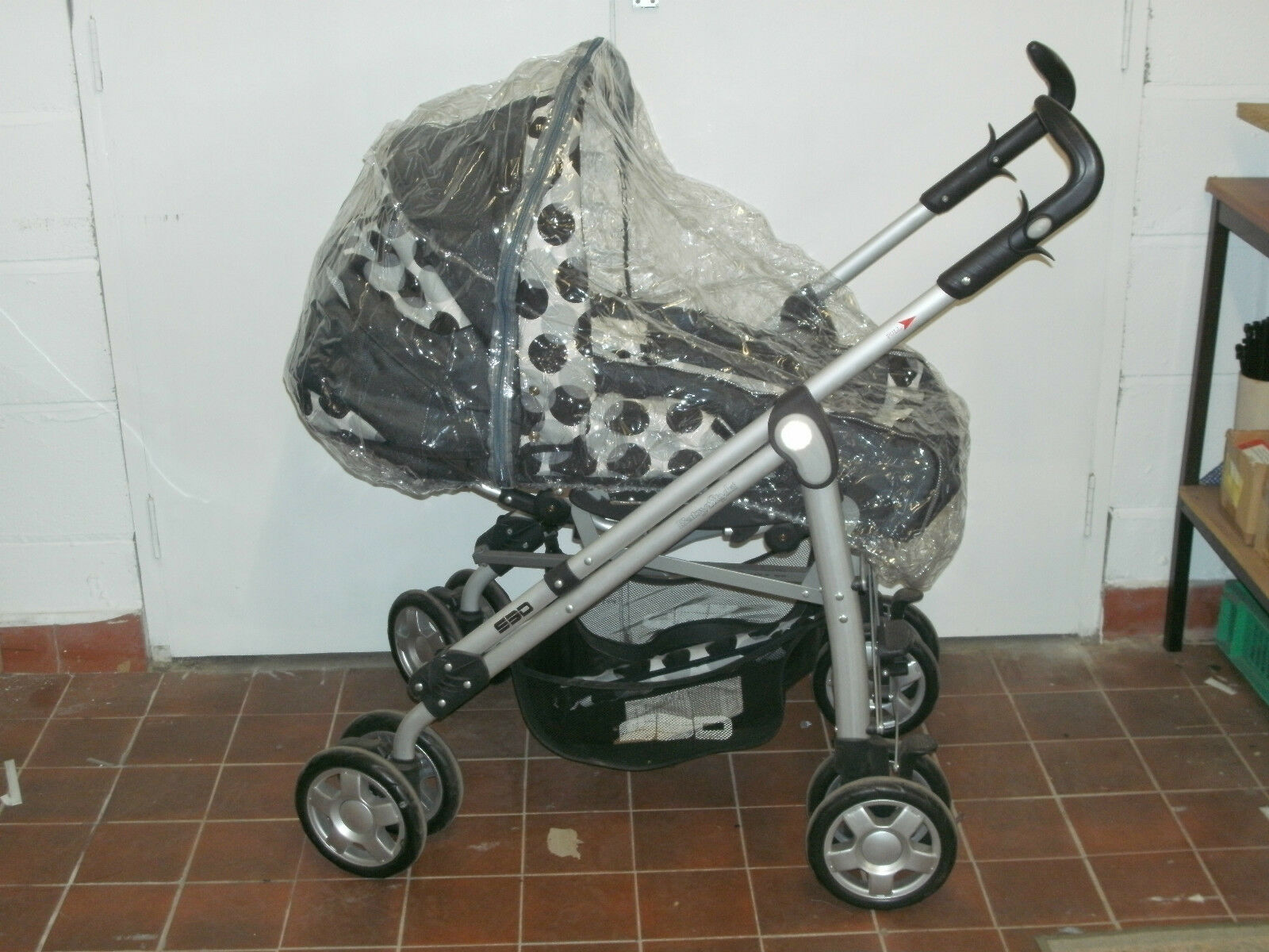 PUSHCHAIR CARRYCOT Rain Cover to fit BRITAX PRACTICALE SPORT PRAM