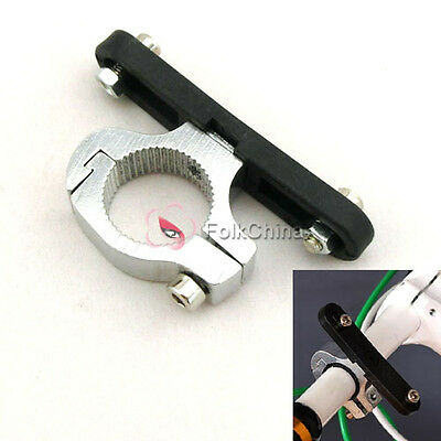 Bike Bicycle Water Bottle Cage Holder Clamp Clip Handlebar Bracket Mount