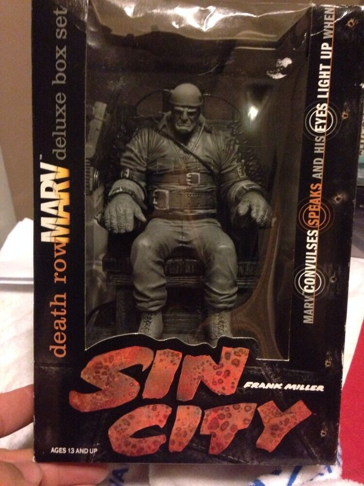 Sin City-death Row Marv Deluxe Box Set Iluminan Ojos Y vibrante Sonido