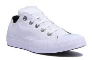 f15445479016 Details about Converse 559829C All Star Womens White Stud Canvas Trainer  Size UK 3 - 8