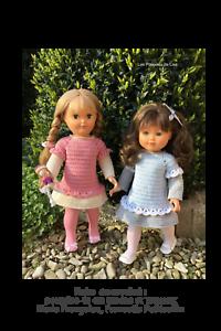 Collant vêtement compatible poupée modes /& travaux