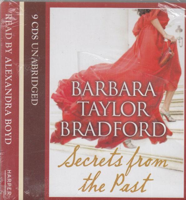 Barbara Taylor Bradford Secrets From The Past 9CD Audio Book NEW Unabridged