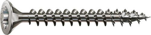 Spax tableros de tornillos de acero inoxidable a2 senkkopf TORX llena de rosca Ø 6mm