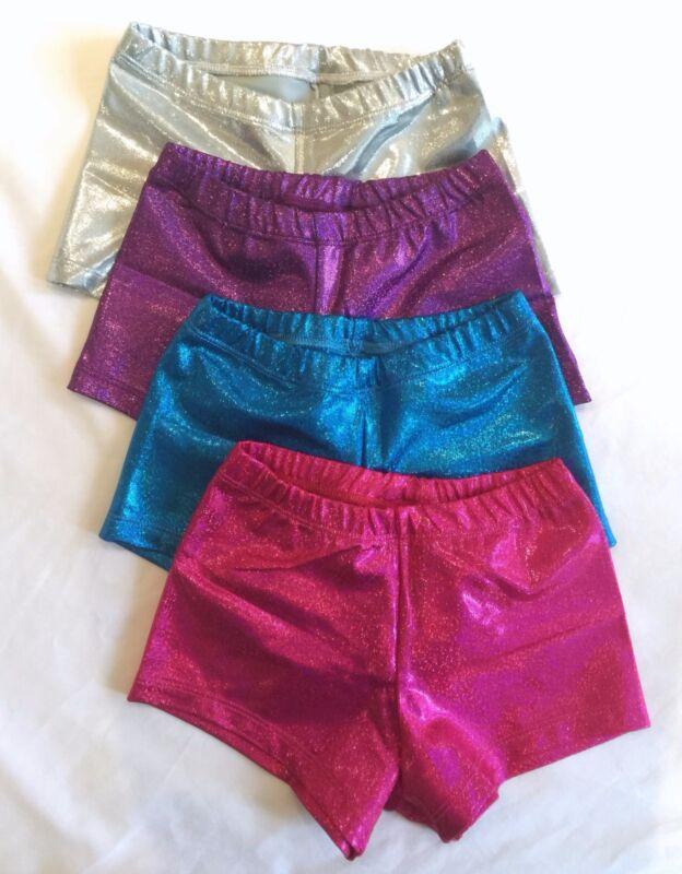 Pantaloncini in rosa viola turchese e argento-grigio * Mistica GIOIELLO