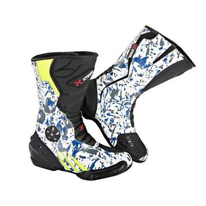 KIDS-XTRON-ADVENTURE-MOTORBIKE-MOTORCYCLE-RACING-ARMOUR-SPORTS-BOOTS-NEW-STYLISH