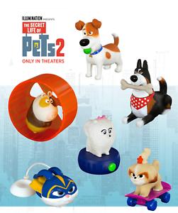 McDonald/'s Thailand Happy Meal Toy 2019 Captain Snowball Secret Life of Pets 2