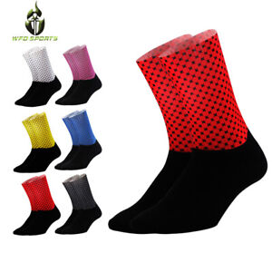 Unisex-Men-Breathable-Cycling-Socks-Mountain-Bike-Road-Running-Pairs-Cycle-Sock