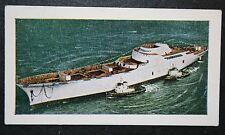NS  Savannah   Nuclear Merchant Ship       Illustrated Colour Card
