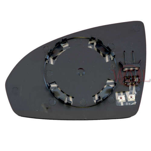 HEATED /& BASE,RIGHT SMART FORTWO 2007-/>2015 DOOR//WING MIRROR GLASS SILVER