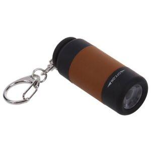 2X-USB-rechargeable-Portable-Mini-torche-LED-Lampe-de-poche-de-anneau-porte-M6I4
