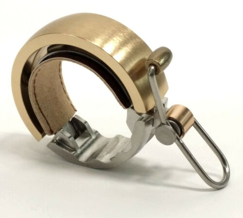 Knog Oi Luxe Bike Bell Brass//Large