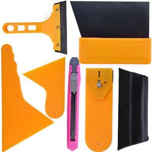 Car-Window-Tint-Tools-Kit-Film-Tinting-Scraper-Application-Installation-Fitting
