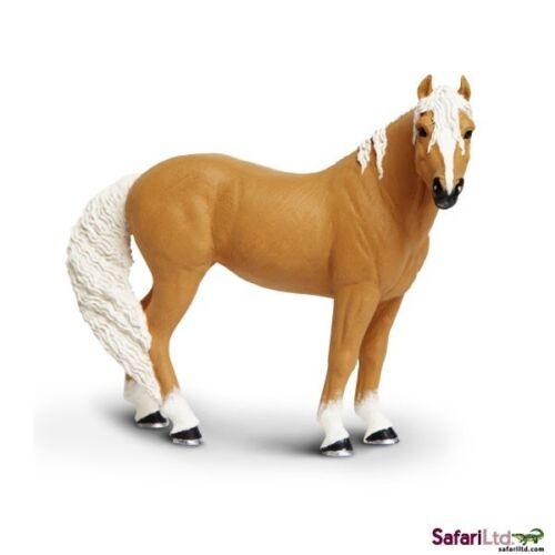 Safari LTD 150505 palominostute cavallo 12 cm Serie Mondo Cavalli