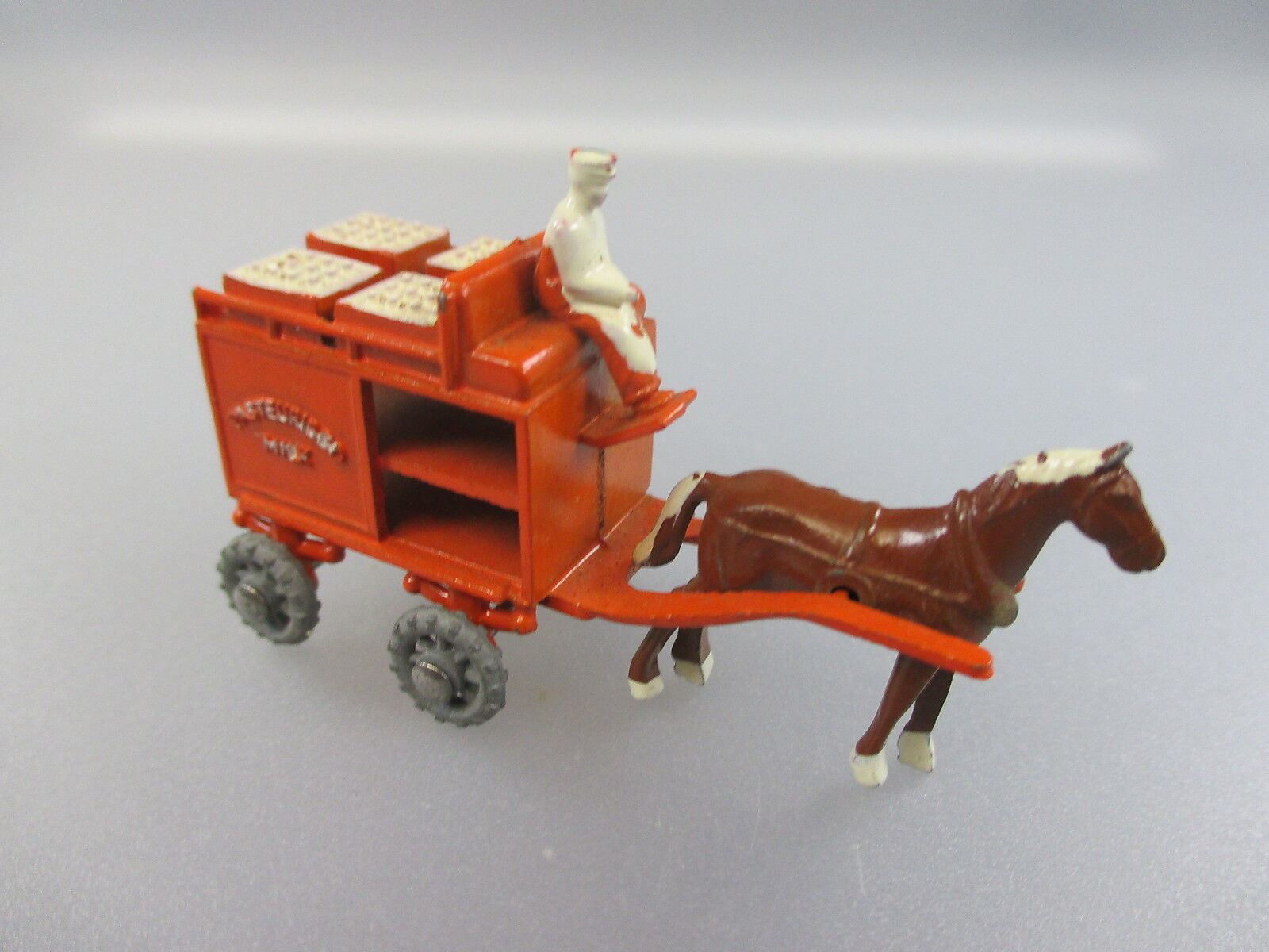 Lesney  leche-carruaje Horse drawn Milk float (PK)