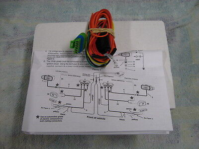 meyer nite saber i or ii snow plow light wiring part 07609. Black Bedroom Furniture Sets. Home Design Ideas