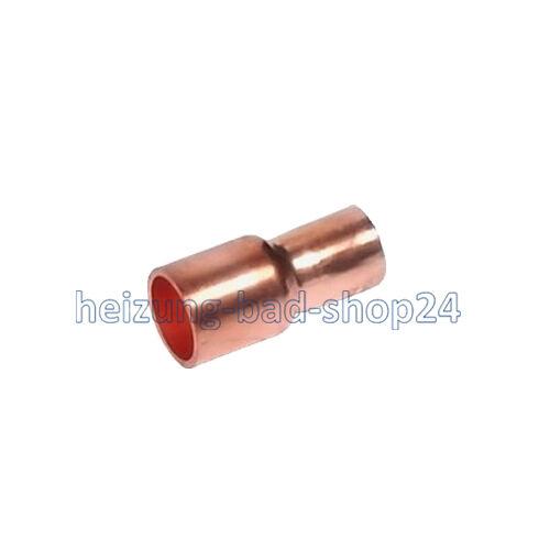 5243 1 Kupfer Fitting Lötfitting Absatz-Nippel 2815mm