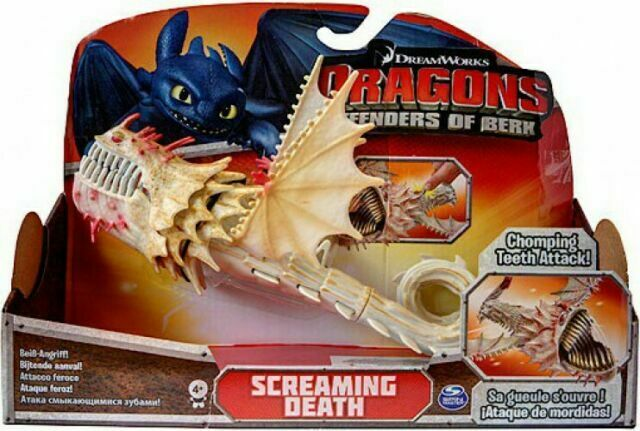 Dreamworks How To Train Your Dragon Screaming Death Figure Defenders Of Berk For Sale Online Ebay
