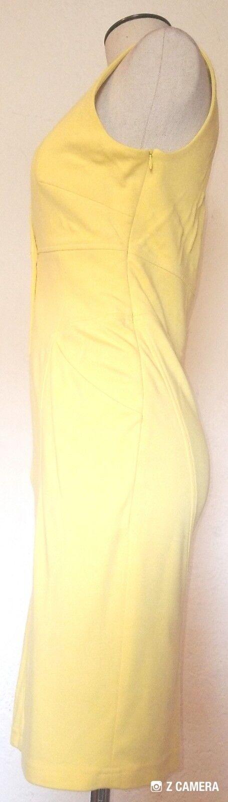 Catherine Malandrino Bright Yellow Dress Size S  - image 3