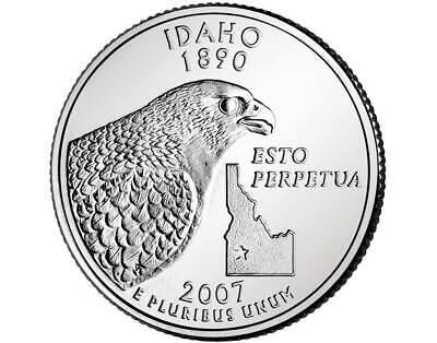 2007P IDAHO STATE QUARTER