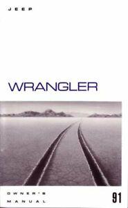 Bishko OEM Maintenance Owner's Manual Bound for Jeep Wrangler 1991