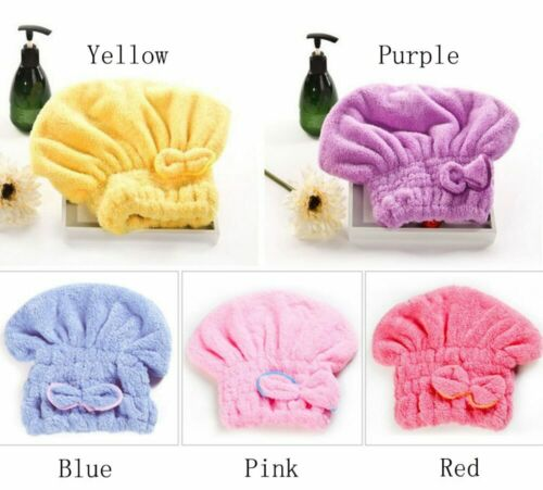 Dry Hair Hat Shower Cap Wrap Towel Microfiber Hat Superfine Quickly Absorbent Ha