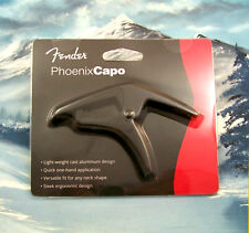 Fender Phoenix Capo Electric Guitar Spring - Black