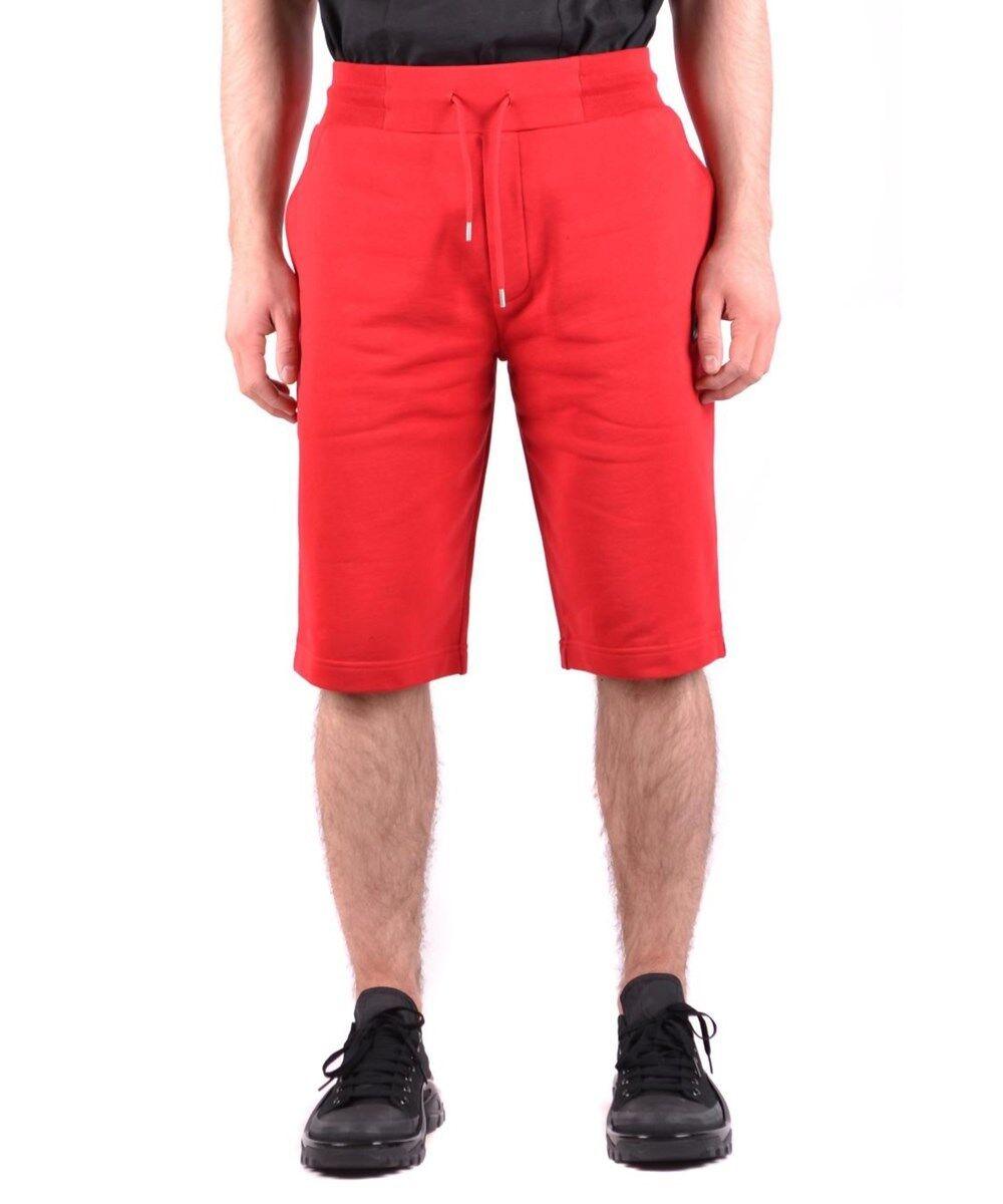 Mcq Alexander Mcqueen Men's Red Cotton Shorts